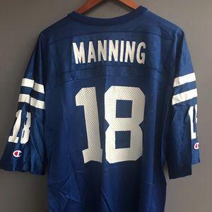 Peyton Manning Indianapolis Colt Champion Jersey